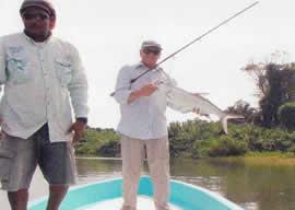 Tarpon Fishing at Monkey River